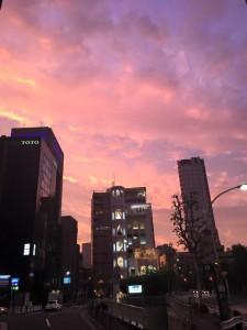 乃木坂夕日