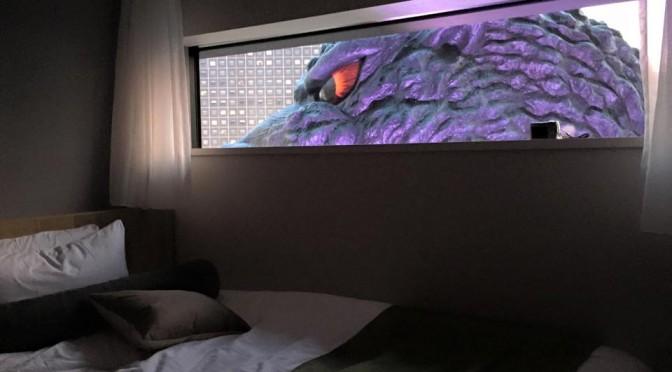 裏技あり!?ゴジラビュールーム宿泊体験 徹底レポート☆ ~ Godzilla View Room at Hotel Gracery Shinjuku