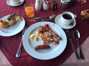 アンボセリ朝食