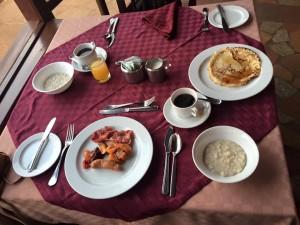 アンボセリ朝食ビュッフェ